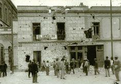 El edificio que albergaba a el diario el Heraldo despues de la decena tragica,  este edificio se derrunbo para dar paso hacia Reforma.