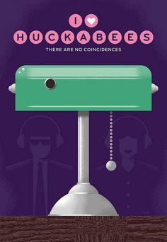 I Heart Huckabees (2004) ~ Minimal Movie Poster by Luke Bott #amusementphile