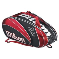 Roger Federer 15 Pack Tennis Bag. What a cool looking Tennis bag.