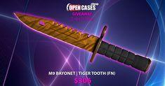 M9 BAYONET TIGER TOOTH FN #giveaway #csgogiveaway #sorteio #sorteo