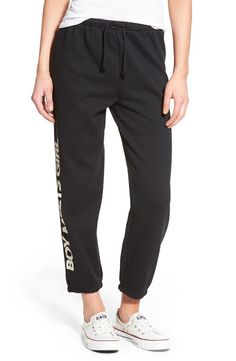 Boy Meets Girl Boy Meets Girl Graphic Sweatpants available at #Nordstrom