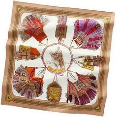 Hermes Cuirs du Desert -- perfect colors i nspired by touareg leather and metal work