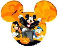 .Halloween Mickey Head