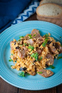 This rice and sausage dish is quick, easy and delicious! It's perfect for those busy weeknights and it's easy on the wallet.