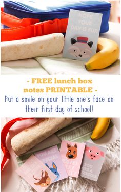 Free printable lunchbox notes for your little one. Click through and get it free now or re-pin for later.