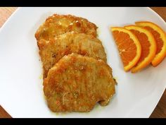 Scaloppine all'arancia (ricetta con la lonza) - YouTube