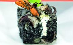 Arròs negre amb sípia i llagostins Steak, Pasta, Food, Noodles, Meals, Steaks, Beef, Pasta Recipes
