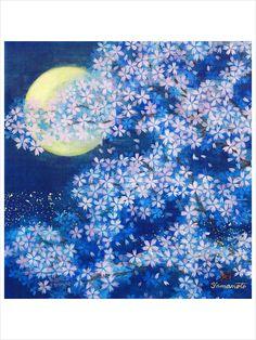 Traditional Japanese art (Nihonga) by Hiroshi Yamamoto