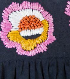 raffia embroidery