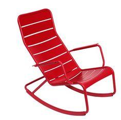 schommelstoel voor buiten rood