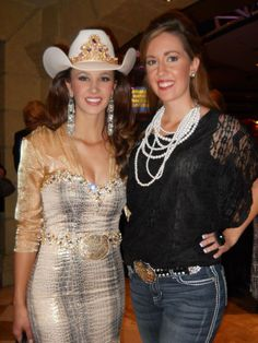 Miss Rodeo America 2011 We had this prom dress!!! @Abigail Leamon
