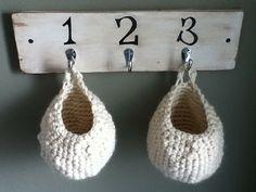 Pattern: Crocheted Baskets