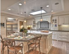 Kitchen Table Island Combo Remodel Banquette Eat In
