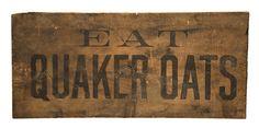Eat Quaker Oats