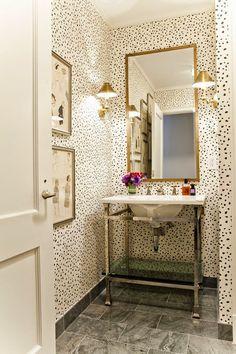 The French Tangerine: ~ pretty pretty powder rooms