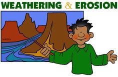 Weathering & Erosion - Free Science Lesson Plans, Activities, Powerpoints, Interactive Games