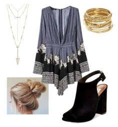 """""""Untitled #112"""" by jitterbug3 on Polyvore featuring WithChic, Steve Madden, House of Harlow 1960 and ABS by Allen Schwartz"""