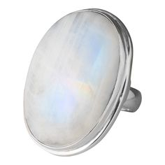 Large moonstone ring
