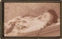 totes Mädchen - Troppau 1880