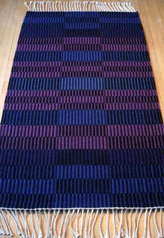 with moms fabrics? Blue and purple rep weave