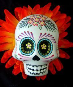 Medium Sugar Skull - Day of the Dead by ArtofSkulls