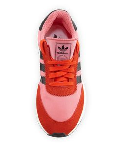 watch fa80e fb927 Adidas Iniki Vintage Runner Sneaker, Pink Orange Adidas Iniki Runner,  Orange Sneakers,
