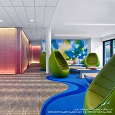 Inspiring Karim Rashid Furniture For Contemporary Interior Home Decor: Prizeotel Interior By Karim Rashid Furniture And Bonaldo Furniture