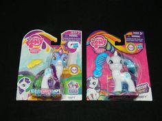 My Little Pony G4 FiM Rarity Lot of 2 Mint In Box MIP [1e] #Hasbro