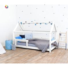 Kinderbett Garrett House Tery mit Baldachin - Kinderbett Garrett House Tery mit Baldachin Best Picture For diy furniture For Your Taste You are - Bed Storage, Bedroom Storage, Safety Bed, Kids Bedroom, Bedroom Decor, Bed Guard, Water Bed, Shabby Chic Bedrooms, Bed Base