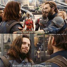 Wtf is that shoulder slap? GIVE HIM A DAMN HUG!!! | Infinity War, Avengers, film, comics, comic books, comic book movies, Marvel comics, 2010s, 10s, 2018