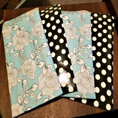 Handmade Bubble Mailers + SET OF 4 + Flower Scrapbook Paper + Polka Dot Scrapbook Paper + 5 1/2 x 9 Inches & 5 3/4 x 9 Inches by JessyeBugsBoutique on Etsy