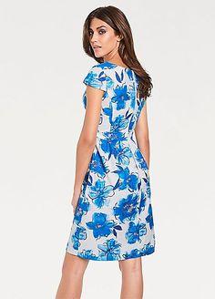 Ashley Brooke Print Dress