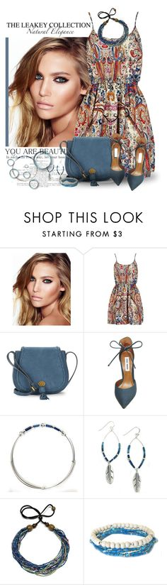 """""""Pretty in Paisley"""" by theleakeycollection ❤ liked on Polyvore featuring Charlotte Tilbury, Nanette Lepore and Steve Madden"""