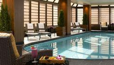 Pool at The Peninsula Hotel, NYC