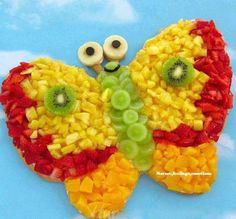 awesome fruits and vegetable creation
