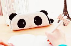 """Find and save images from the """"KAWAII ❤"""" collection by Angelica Andia ✈ (AngelicaAndia) on We Heart It, your everyday app to get lost in what you love. School Supplies Organization, Cute School Supplies, School Trends, School Ideas, Diy Pencil Case, Pencil Cases, Panda Love, School Shopping, Zipper Bags"""