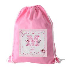 Personalised Fairy Letter Swim Bag from Born Gifted