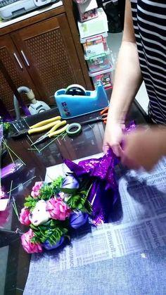 湘榆創意手工坊~~小花束包裝 (材料歡迎至露天拍賣參觀選購~湘榆創意手工坊)