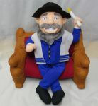 Moshe The Mensch (Mensch On A Bench) the Jewish alternative to The Elf on the Shelf.
