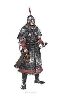 大唐武士 Chinese Tang Dynasty warrior #hanfu Fantasy Concept Art, Dark Fantasy, Chinese Weapons, Dynasty Warriors, Religion And Politics, Fantasy Races, Ancient China, China Travel, Ancient Civilizations