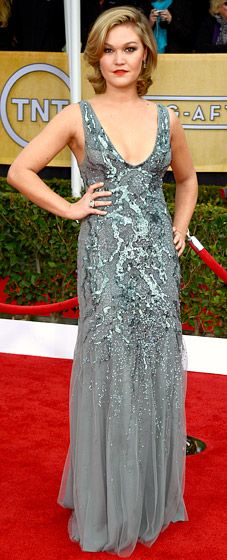 Julie Stiles in Amen Couture at SAG 2013