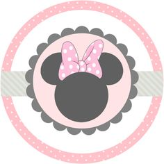Minnie Mouse Stickers, Mickey E Minnie Mouse, Mickey Party, Minnie Birthday, Baby Mouse, Baby Disney, Clipart, Icon Set, First Birthdays