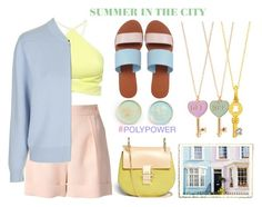 """""""SUMMER IN THE CITY"""" by emcf3548 ❤ liked on Polyvore featuring Lala Berlin, Nicholas, Boutique, Chloé, Frontgate, ASOS, Accessorize and TOUS"""