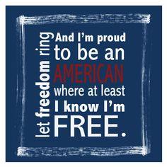 "Lyrics from Lee Greenwood's ""God Bless the USA"" ... #America #Patriotism"