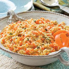 Carrot Orzo Recipe