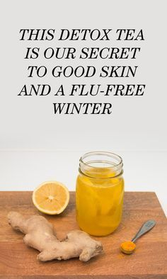 A Detox Tea Recipe for Good Skin and a Flu-Free Winter: I never get sick *knock on wood* but when I do, I rarely ever resort to medication. I've mastered what I like to think is my own personal remedy—I self-styled it my concoction—which I drink nonstop, especially in the depths of winter. Here's the recipe how to make it.   coveteur.com