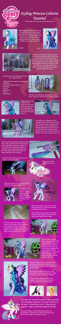 mlp hair styling tutorial the real elements of harmony my pony fim 5121