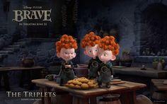 *THE TRIPLETS ~ Brave, 2012