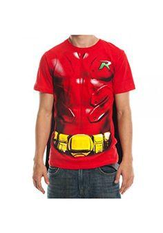 Batman Robin Mens Red Cape Tee (X-Large) @ niftywarehouse.com #NiftyWarehouse #Geek #Gifts #Collectibles #Entertainment #Merch