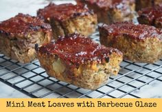 Makes8 mini meat loaves or 1 large loaf We love these mini meat loaves and they're a regular feature on our weekly meal plan. They're a great way to smuggle veggies, freeze brilliantly…